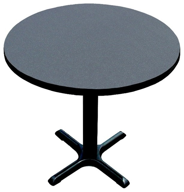 Round Cafe Breakroom Top in Black Granite 48  : contemporary dining tables from www.houzz.com size 614 x 640 jpeg 50kB