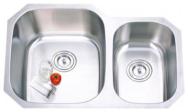 Kitchen Stailess steel sink modern-kitchen-sinks