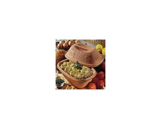 Clay Baker - 3 - 5 lbs Capacity - Romertopf the all natural and healthy way to cook!
