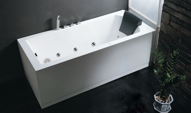skirted whirlpool tub modern bathtubs new york by quality bath