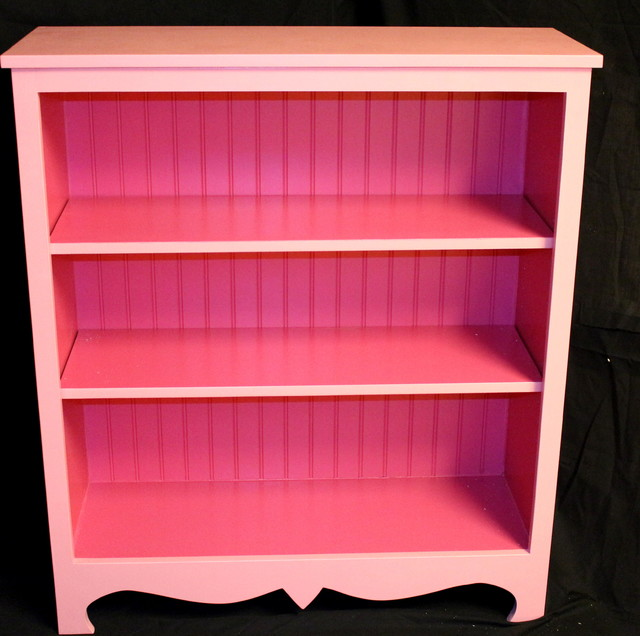 Pink Bookcase - Eclectic - Bookcases - denver - by Timothy Custom Woodworks
