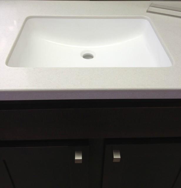 Solid Surface Vanity Tops : ... Furniture / Bathroom Storage & Vanities / Vanity Tops & Side Spla...