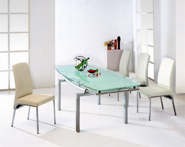 ... Dining Set - 4 Chairs and Expandable Dining Table modern-dining-tables