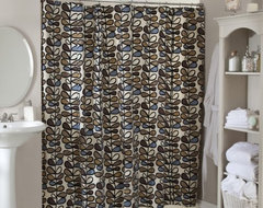 Amari Shower Curtain contemporary shower curtains