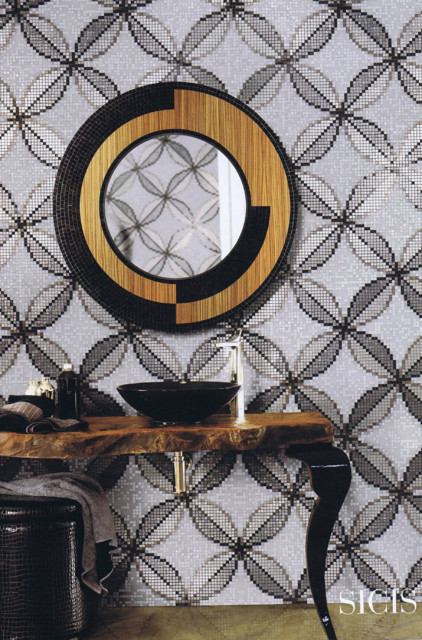 CERAMIC & GLASS TILE traditional-tile