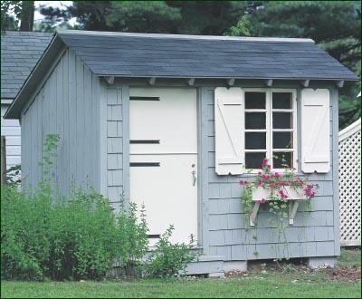 8 X 10 Storage Building Modern Sheds