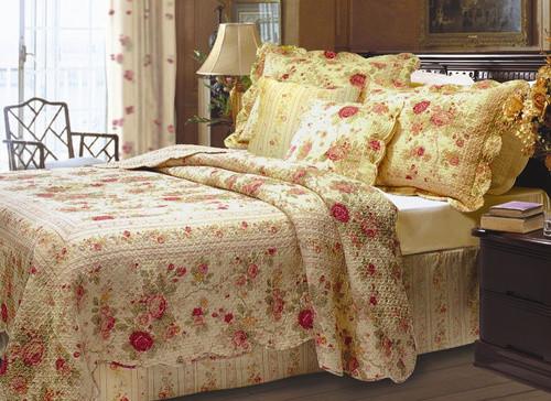 Antique Rose Bonus Quilt Set modern-quilts-and-quilt-sets