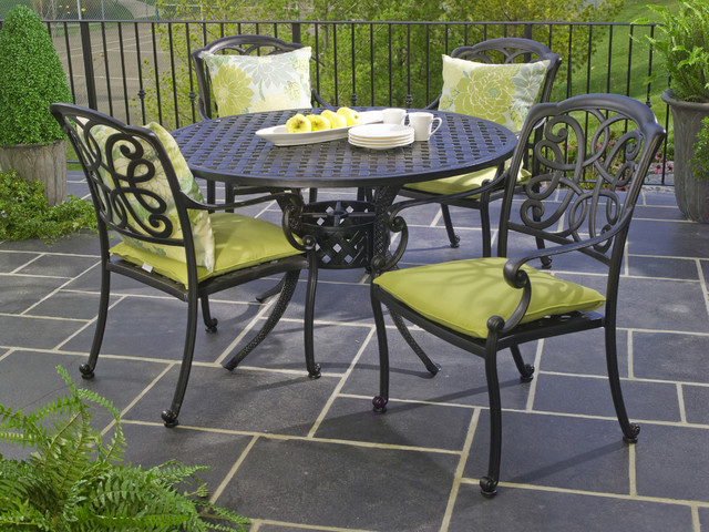 Hauser Niagara Cast Aluminum Outdoor Dining Patio