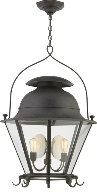 Cranbrook Large Lantern traditional-pendant-lighting