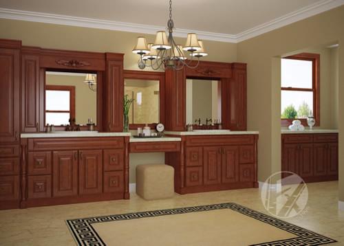 FX Warehouse Cabinets Mochaville traditional-bathroom-storage