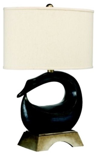 Gray Goose Table Lamp contemporary-table-lamps
