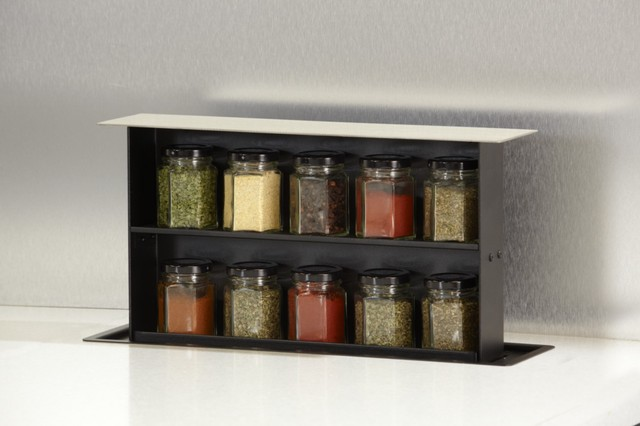 S-Box Pop-up Spice Rack contemporary-spice-jars-and-spice-racks