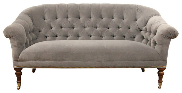 Icon Monroe Loveseat Traditional Loveseats By Abc