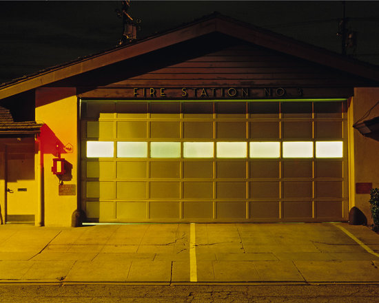 """Fire Station #3 - C-print, unmanipulated transparency film image, 20""""x30"""" image size, 24""""x34"""" paper size, edition of three c-prints, edition of three pigment prints. Signed, numbered and captioned in ink on the verso."""