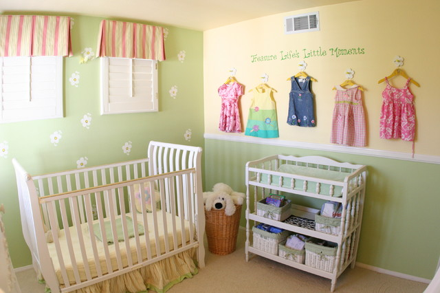 Babygirls Nursery traditional kids