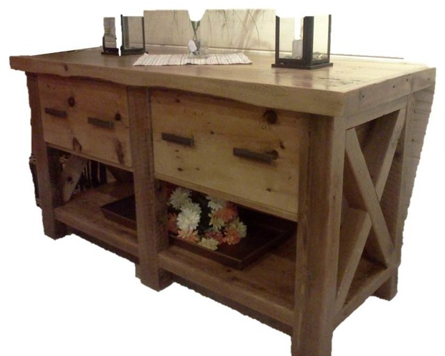 Reclaimed Barnwood Furniture traditional-storage-and-organization