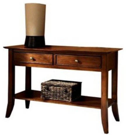 Riverside American Crossings Sofa Table contemporary-side-tables-and-end-tables