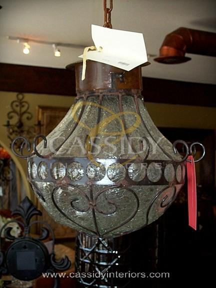 Blown Glass Lights mediterranean-pendant-lighting