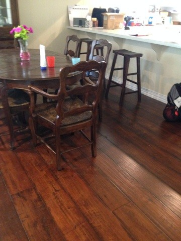 Johnson English Pub Handscraped Engineered Hardwood Color