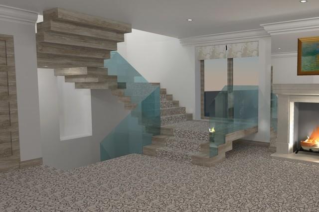 interior design aberdeen   contemporary   rendering