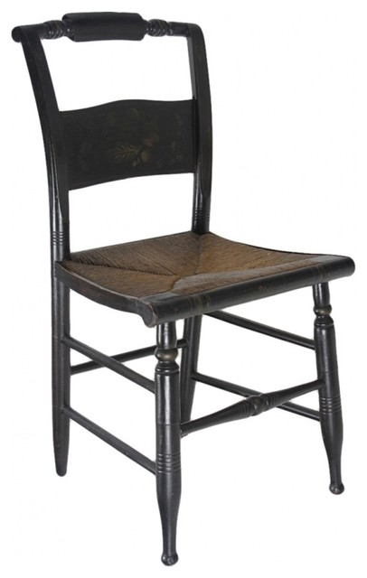 19th Century Rush Hitchcock Chair contemporary-living-room-chairs