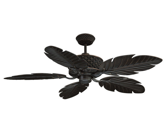 "Ellington Fans - Ellington Fans PAP52ABZ5RCDI Aged Bronze Outdoor Outdoor 5 Blade 52"" - Ellington Fans Pineapple Outdoor 5 Blade 52"" Ceiling Fan and ControlsAdd a sophisticated and classic in your home with the Pineapple Ceiling Fan from the Outdoor Collection by Ellington Fans. The fan is a simple way to add a style sure to draw complements.When you step outside, step into paradise. Enjoying the crisp air of a fall evening or sipping coffee during a brilliant sunrise? Our outdoor collection will help you truly savor each one of those precious moments in style. Ellington Fans Pineapple Features:Lifetime WarrantyWCI100 Wall ControlRCA103 Remote2 x 13 Watt Down Light Kit Adaptable  (Not Included) Ellington Fans Pineapple Specifications:CFM: 4838.1Watts: 60.3Height from Blades: 14.25""Height from Ceiling: 15.5""Light Kit Adaptable: YesLight Kit Included: NoNumber of Blades: 5Blade Span: 52""Control Type: Wall ControlControl Type: RemoteRemote Included: YesMount Type: Downrod OnlyMotor Size: 172mm x 20mmEllington Fans Pineapple Blade Finishes:  Aged Bronze Finish  - Aged Bronze Blades Matte White Finish  - Matte White Blades"