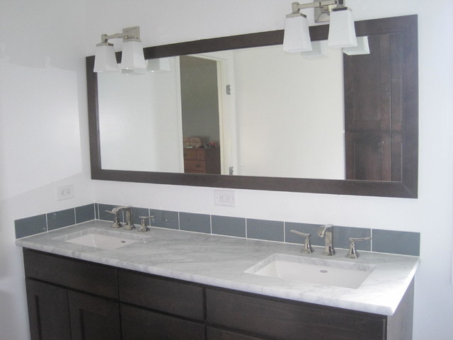 Contemporary Bathroom Remodel Contemporary Vanity Tops And Side Splashes