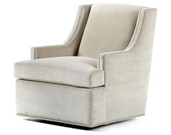Crosby Swivel Chair traditional-chairs