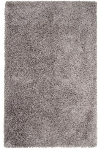 Wilde Silver Gray Rug modern-rugs