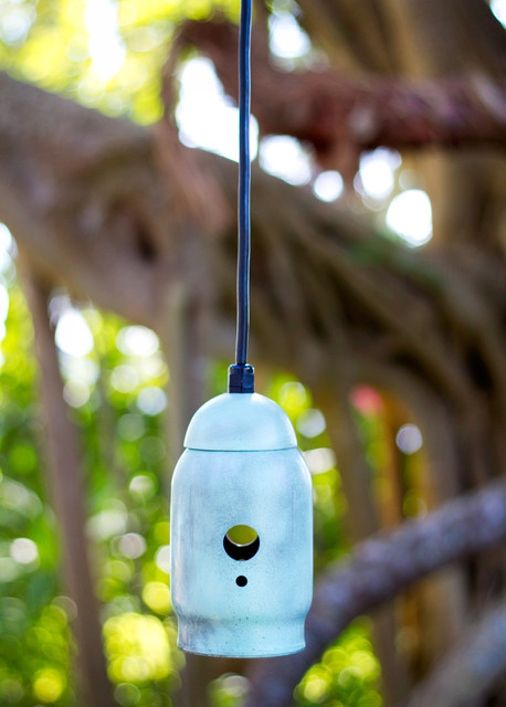 The Mig - Retro Steel Industrial Pendant tropical