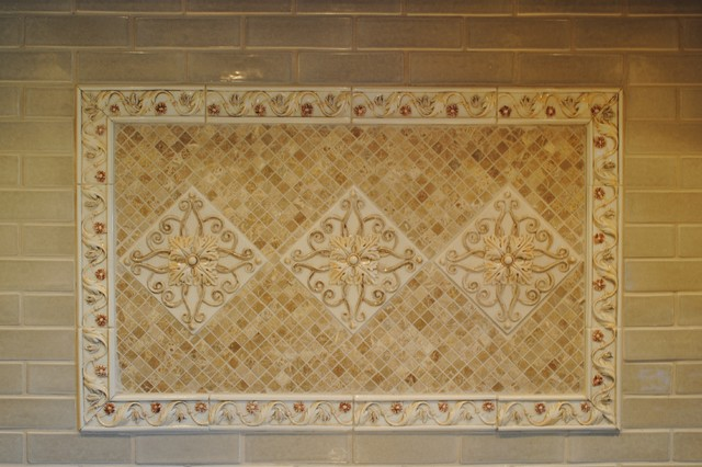 Warm Welcoming Kitchen traditional-tile