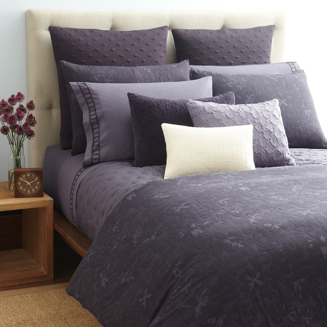 Vera wang violet collection bedding by bloomingdale 39 s for Exclusive plum bedroom