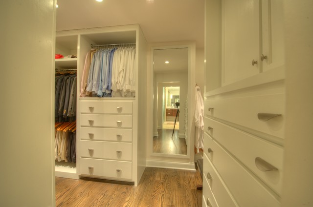 Taylor Project traditional-closet