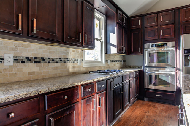 York Espresso Kitchen traditional-kitchen-cabinetry
