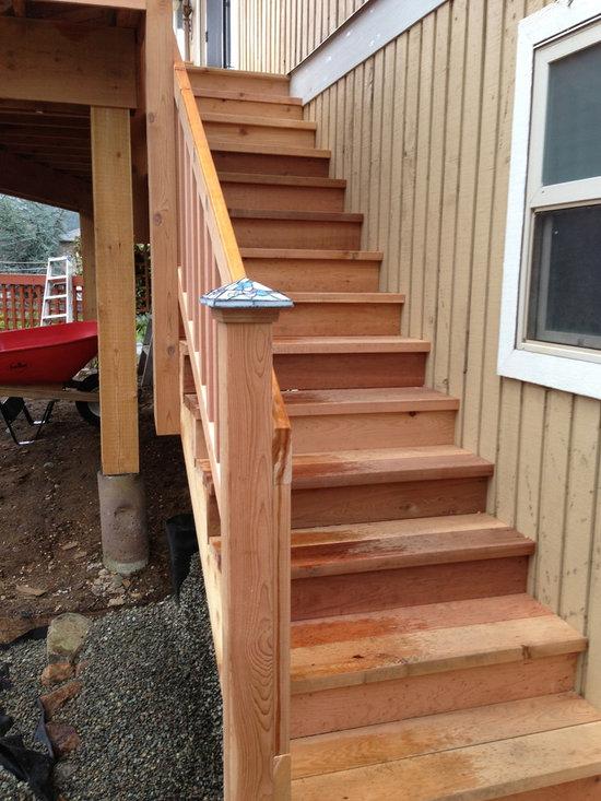 Cedar Deck -