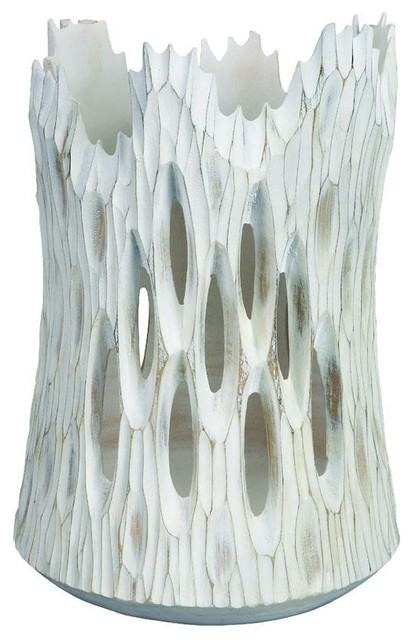 Whitestone Vase contemporary-vases