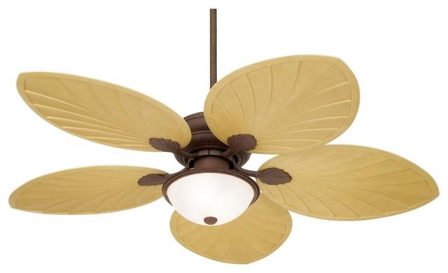 54 Casa Vieja Outdoor Palm Leaf Ceiling Fan