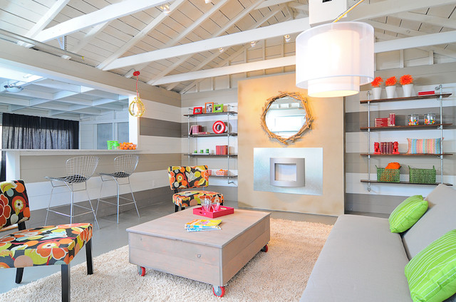 Hgtv garage turned lounge - Kids rumpus room ideas ...