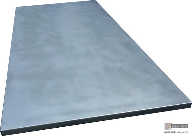 Zinc Counter Tops - Cambridge - Modern - Kitchen Countertops - boston ...