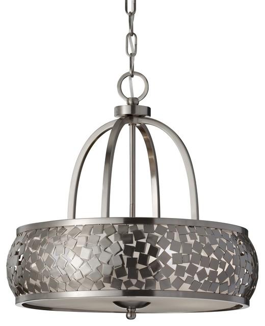Murray Feiss MRF-F2737-4BS Zara Modern / Contemporary Chandelier contemporary-chandeliers