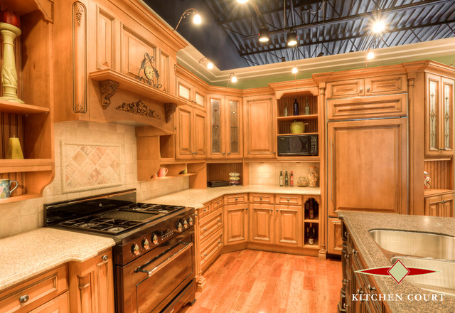 Kitchen Cabinetry Design Showroom Displays Traditional Kitchen