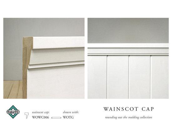 WindsorONE Wainscot Cap -