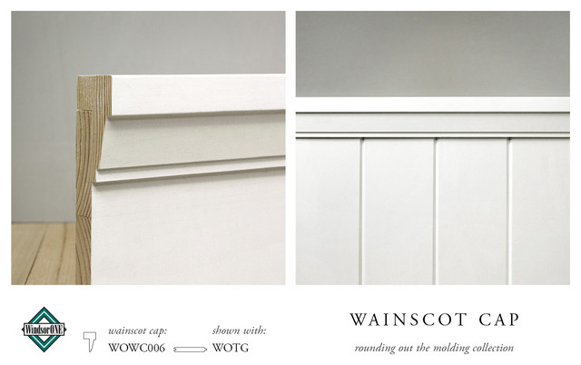 WindsorONE Wainscot Cap - Traditional - Molding And Trim - san francisco - by WindsorONE