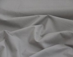 Plain color grey cotton curtain material fabric modern upholstery fabric