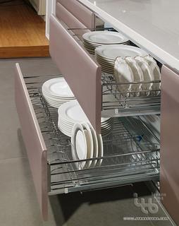 Contemporary Kitchen Modern Dish Racks Other Metro
