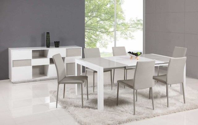 Top Leather Italian Dining Table And Chair Sets Modern Dining Tables