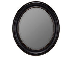 Look at yourself in a new light with the Townsend Wall Mirror - Black. Its made traditional mirrors