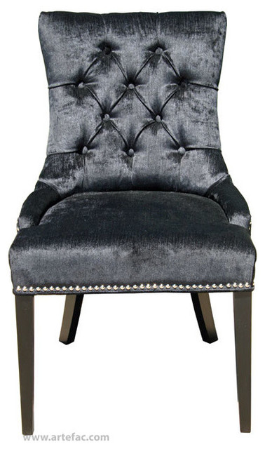 Dining Arm Chairs Black tufted dining chairs. tufted dining chair abbyson fair grey fabric