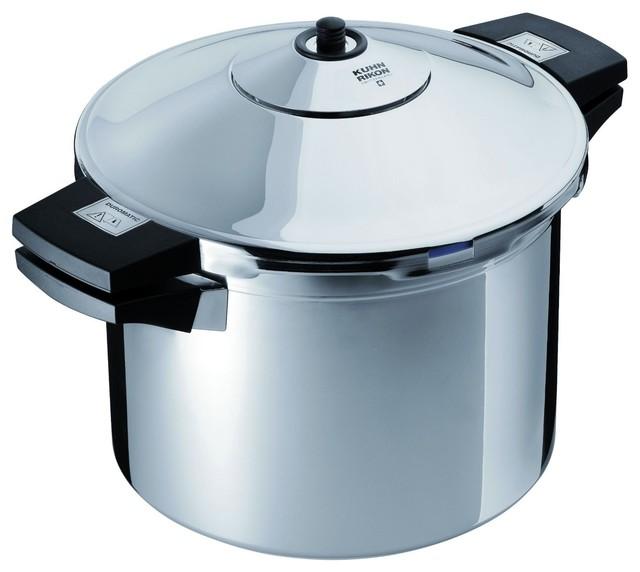 Kuhn Rikon Duromatic 8 Quart Pressure Cooker Stockpot modern-specialty-cookware