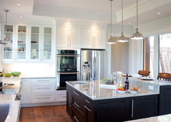 White Kitchens by Merit traditional-kitchen